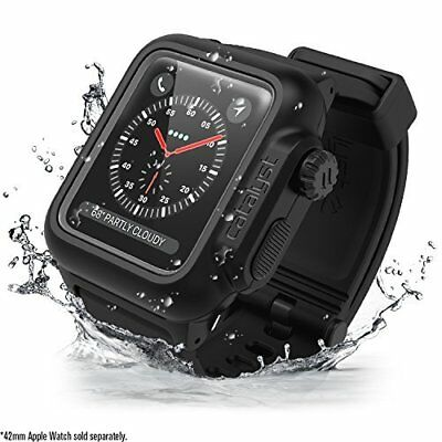 Apple Watch Series 3/2 Waterproof Shock Resistant Case Band Durable Cover Strap