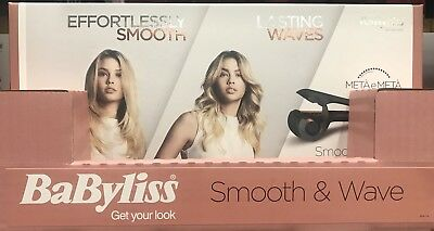 Babyliss 2662U Smooth and Wave Secret up to 230°C/ 3 years guarantee FREE shipp