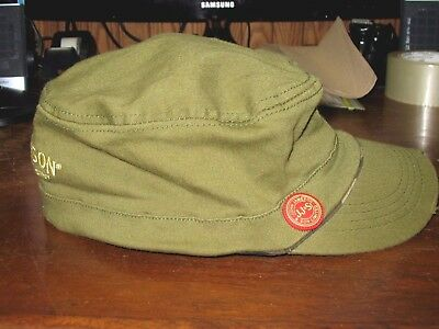 John Jameson & Son Ltd Irish Whiskey Olive Green Distressed Baseball Cap Hat