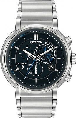 New Citizen Eco-Drive Proximity Bluetooth Stainless Steel Men's Watch BZ1000-54E