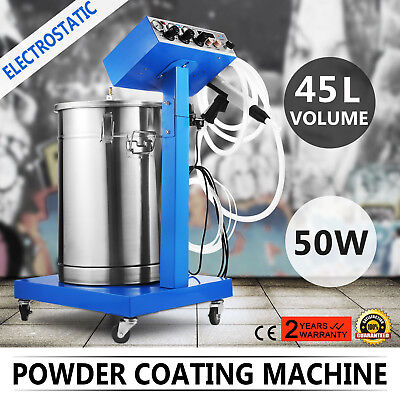 Powder Coating System with Spraying Gun WX-958 Electrostatic Machine Spray