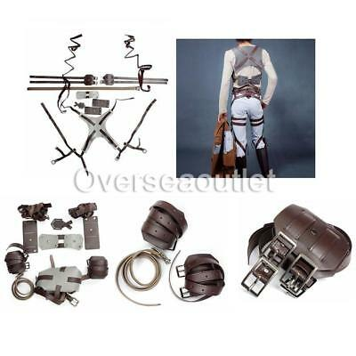 Cosplay Attack On Titan Shingeki No Kyojin Mikasa Ackerman Harness Belts Strap