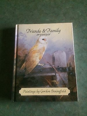 Address Book: Friends and Family Organiser with paintings by Gordon Beningfield