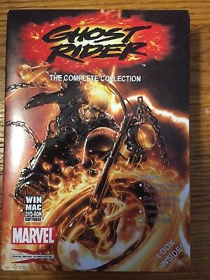 Ghost Rider DVD-ROM Comics GIT Corp OOP Complete collection