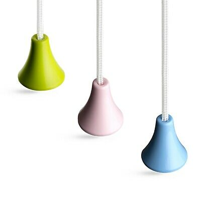 Sleeklight™ Bathroom Light Pull Cord Strings, Choice Of Three Classic Colours.