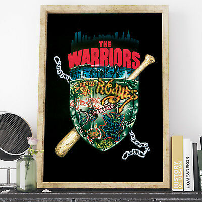The Warriors Movie Poster, Cult Classic, New York Print, Wall Art, Bedroom Decor