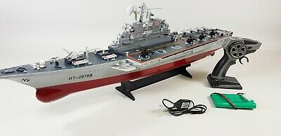 RC REMOTE CONTROL Aircraft Carrier Boat Battleship ship warship model toy  kit