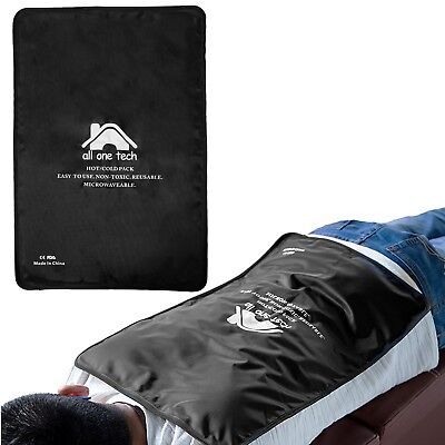 """Hot Cold Therapy Pad Reusable Gel Ice Pack Pain Relief Sports Injury 13""""x21.5"""""""