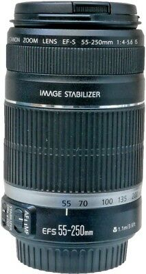 Canon EF-S 55-250mm F4-5.6 IS Lens