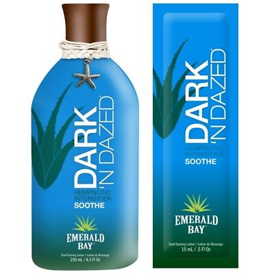 Emerald Bay Dark 'N Dazed intensifier Sunbed Tanning Lotion Cream sachet or btl