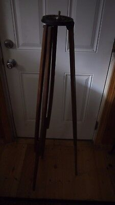 Antique Wooden Scovill Tripod