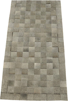 kuhfell teppich grau patchwork cowhide rug grey tapis peau vache gris grey1 chf. Black Bedroom Furniture Sets. Home Design Ideas