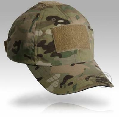 Crye Precision Shooter's Cap with Hook & Loop Patch