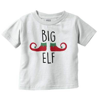 Elf Sibling Christmas Funny Family Matching Festive Elves Toddler Infant T