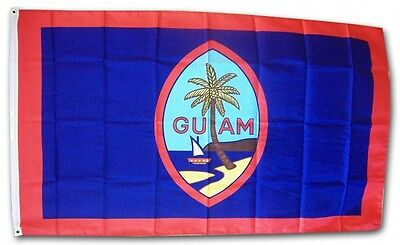 GUAM  FLAG 3 x 5 '   FLAG   -  NEW 3X5 INDOOR OUTDOOR COUNTRY FLAG