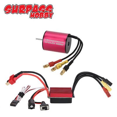 Combo S2430 5800KV Brushless Motor +25A ESC Great Für 1:16 1:18 RC Auto Car DEW
