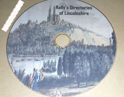 Kelly's Directory Lincolnshire 7 Volumes transferred from original books Pdf