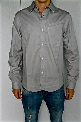 Shirt Wine Stripe Shirt Black M+F Girbaud Junxion SIZE S NEW/Tag Val 220€