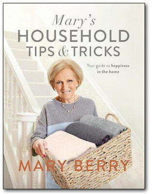 Mary's Household Tips and Tricks - Mary Berry (Hardcover) *BRAND NEW*