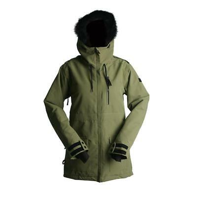 NEW Snow gear RIDE Marion Jacket Womens Army Green