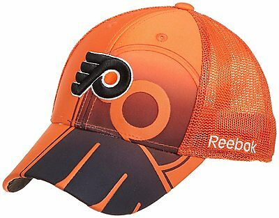 Philadelphia Flyers NHL Hockey Reebok Ice Hockey Flexfit Cap New Size S/M