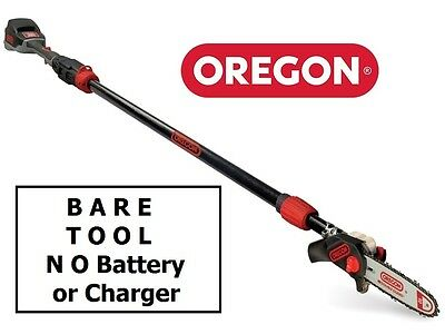 "Oregon PS250 (BARE TOOL) 36v Cordless 24"" Pole Chainsaw 563469 5400182980117"
