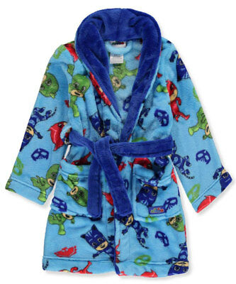 PJ Masks Little Boys' Toddler Plush Robe (Sizes 2T - 4T)