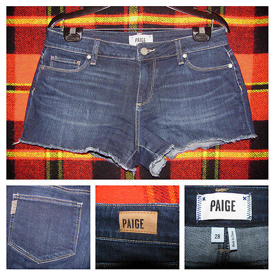 Womens Paige Catalina Cut Off Shorts Size 28 Frayed Edge SUPER CUTE