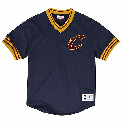 NEW Cleveland Cavaliers Mesh V-Neck Top