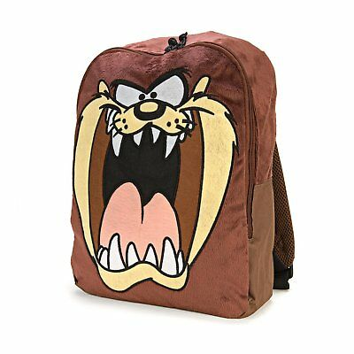 Looney Tunes Taz Fuzzy Backpack