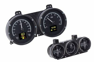 Dakota Digital 1967 Camaro with Console Gauge Cluster Black Face HDX-67C-CAC-K