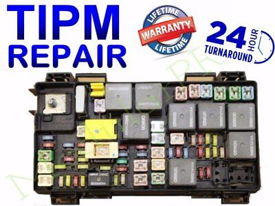 TIPM Fuel Pump Relay Repair/Replacement Service  2008 - 2012 Jeep Liberty