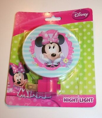 Minnie Mouse Night light Room Decor switch NIP