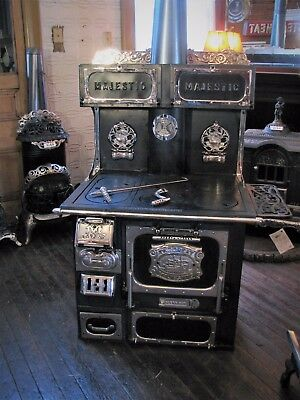 Great Majestic Wood Burning Cook Stove
