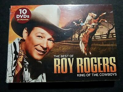 The Best of Roy Rogers: King of the Cowboys (10-DVD) New Factory Sealed