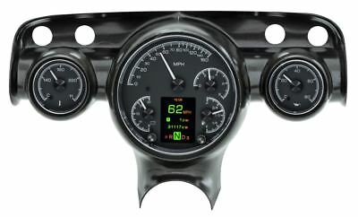 Dakota Digital 1956 Ford Pickup Gauge Cluster Black Face HDX-56F-PU-K