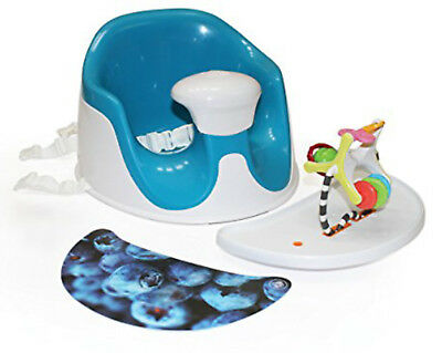 Prince Lionheart 7259 BebePOD Chubs Plus Baby Sitter and Booster Seat Berry Blue