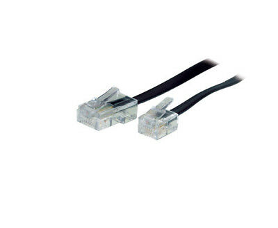DSL Modem Kabel RJ11 / RJ45 Länge: 3m, Good Connections