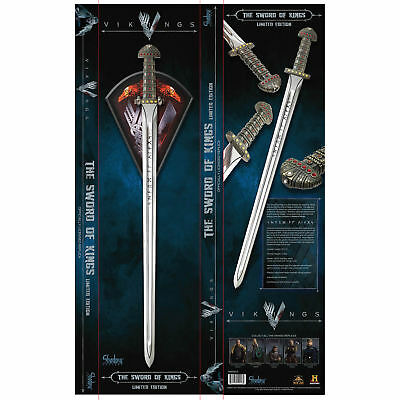 Vikings Ragnar Sword of Kings - Officially Licensed / Limited Edition SH8005LE