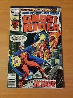Ghost Rider #26 ~ FINE - VERY FINE VF ~ 1977 Marvel Comics