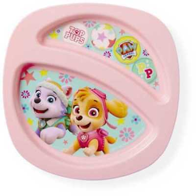 Paw Patrol Skye Sectioned Plate