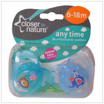 Tommee Tippee Any Time Soother 6-18m