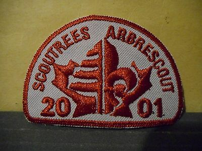 2001 Scout Trees,Boy Scouts of Canada Patch