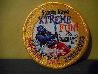 2002-2003 Boy Scouts of Canada Trails End Popcorn Patch,Scouts Have Xtreme Fun