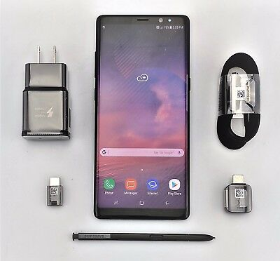 Samsung Galaxy Note 8 SM-N950U AT&T 64GB Black Android Excellent Shape