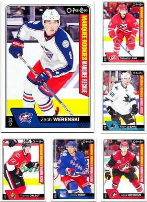 2016-17 O-Pee-Chee MARQUEE ROOKIES **** PICK YOUR CARD **** From The SET