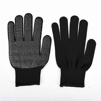 1pair Heat Proof Resistant Protective Gloves Hair Styling Tool Straightener New