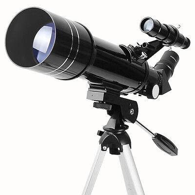 Aomekie 400X70mm Astronomical Refractor Telescope Optical Prism With Tripod
