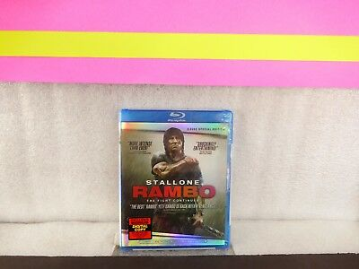 Rambo Sylvester Stallone 2-Disc Special  Edition ( Blu-ray  ) new sealed