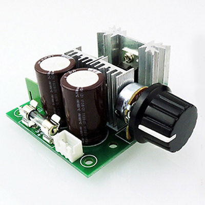 Universal 10A PWM DC Motor Speed Regulator Controller Dimmer Switch 12V-40V
